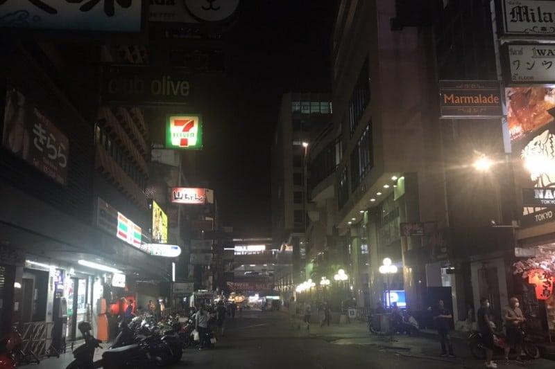 タニヤ通りコロナ対策3月19日最新情報・カラオケ店など休業営業状況