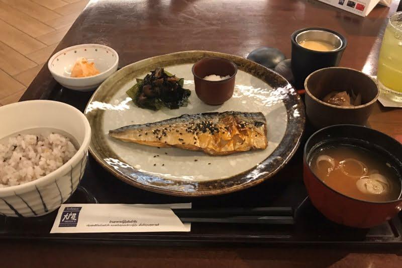 タニヤ通り近くでランチにサバやサンマなど焼き魚の定食がある和食店