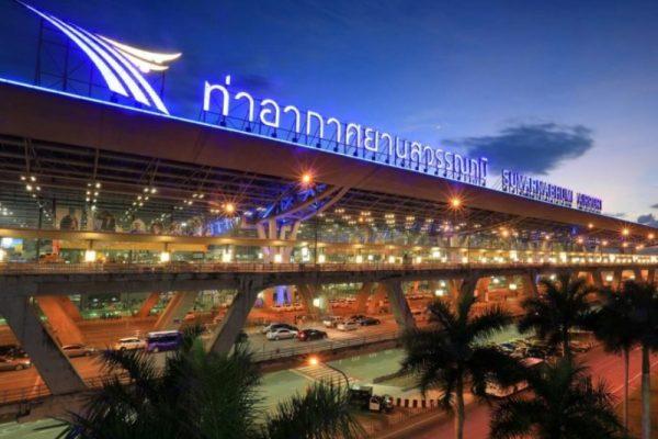 タニヤからスワンナプーム空港