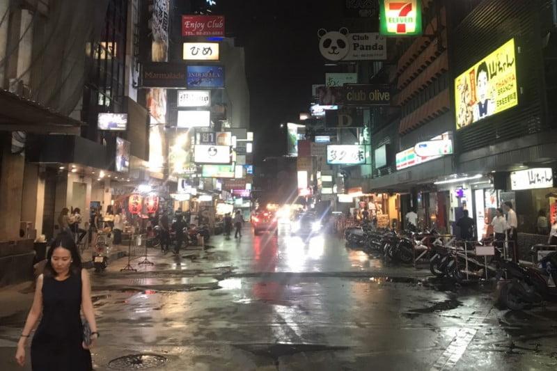夜のバンコク遊び!タニヤカラオケ店のタイコロナ営業の店の最新情報
