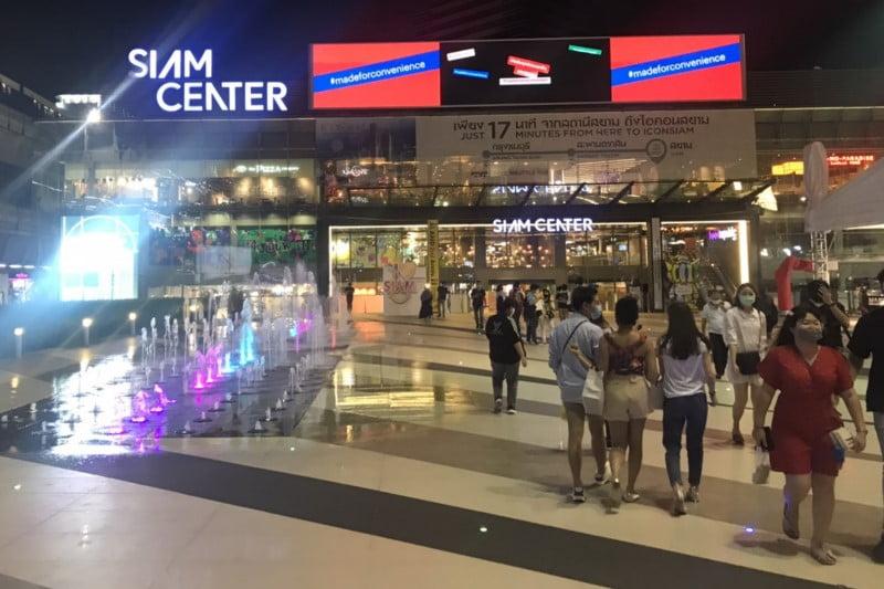 バンコクデパート再開・サイアムなどタニヤ近くの買い物スポット様子