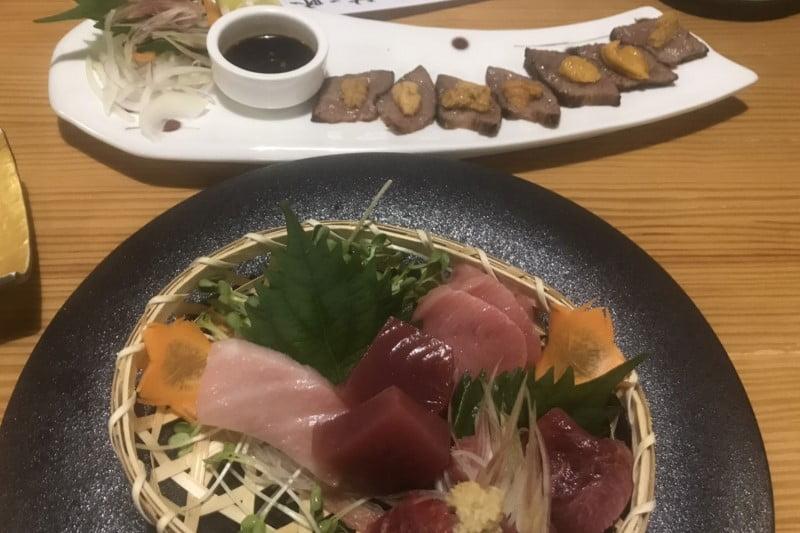 タニヤ通り近い「喜太郎寿し」本格寿司和食店・新鮮刺身と気配りの店