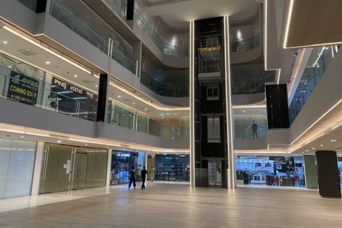 タニヤプラザ改装工事・一部完成し営業再開・新しくなった館内の様子
